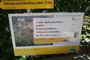 Klettersteig Quarzit : Steiniges verfahren für klettersteige tiroler tageszeitung