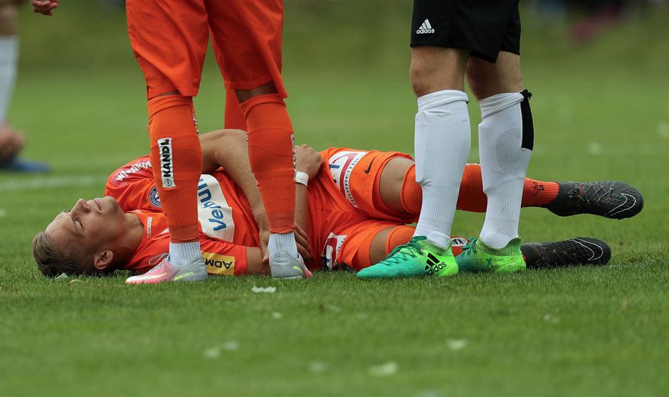 Christoph Monschein erlitt einen Muskelfaserriss im Oberschenkel.