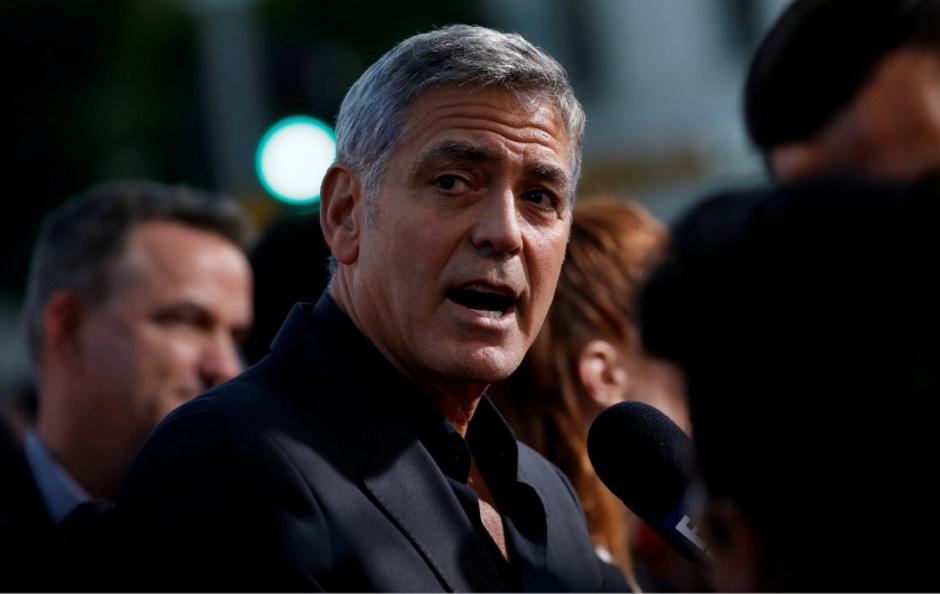 Schauspieler George Clooney.