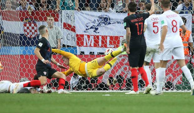 Der Ausgleichstreffer von Ivan Perisic ließ die Partie in Richtung Kroatien kippen.