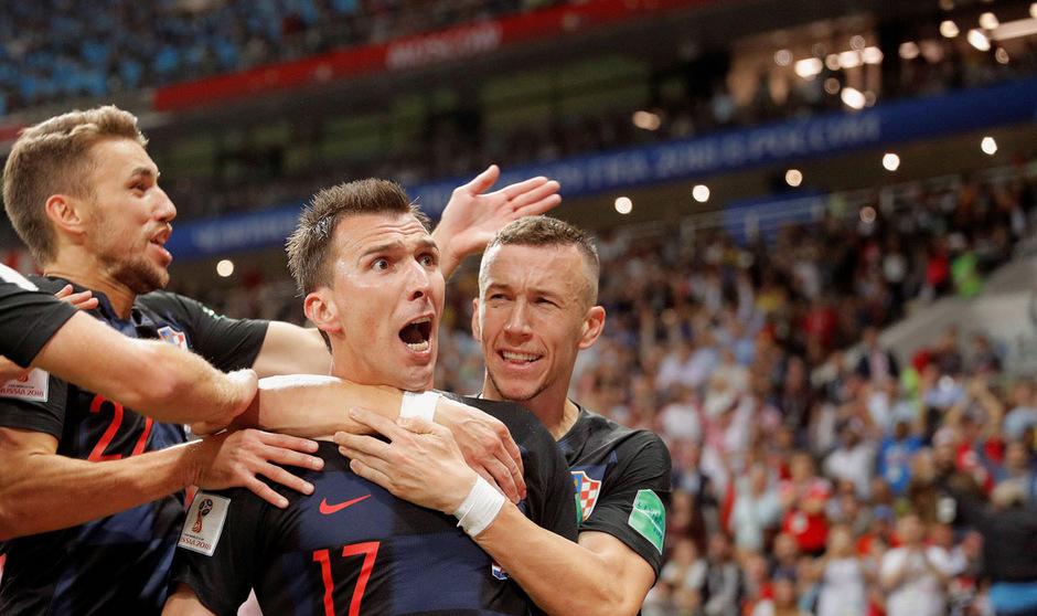 In der 109. Minute sorgte Mario Mandzukic für die Entscheidung zu Gunsten der Kroaten.