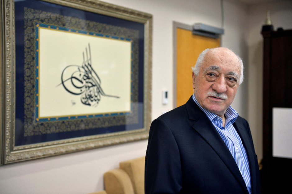 Prediger Fethullah Gülen, der Erzfeind des türkischen Präsidenten Recep Tayyip Erdogan.