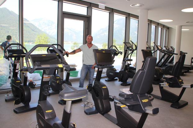 Martin Hohlrieder leitet Fitness-Studio und Boulder-Halle.
