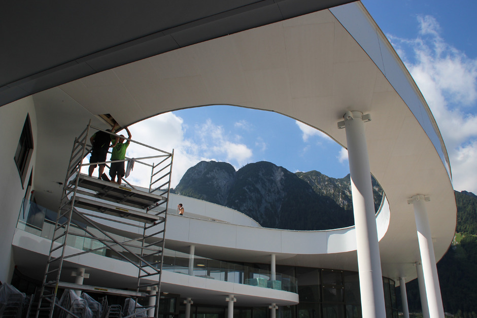Bei der Grundsteinlegung war von einer einzigartigen Freizeitattraktion auf 50.000 m² die Rede.