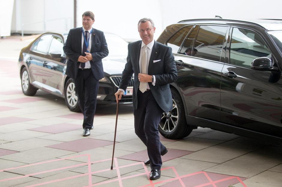 Verkehrsminister Norbert Hofer (FPÖ) in Wien.