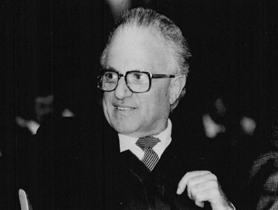 Der legendäre Südtiroler Politiker Alfons Benedikter.