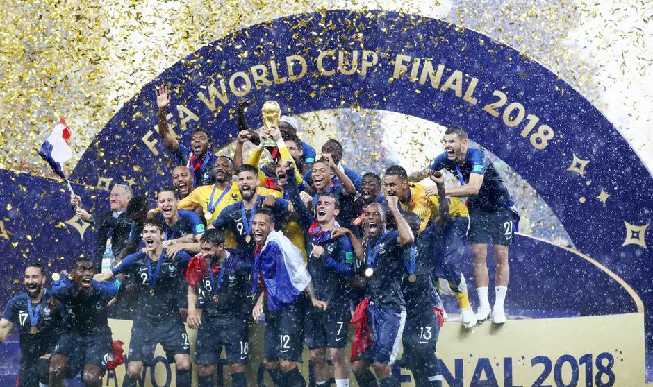abe5f7f2d9ef6 4 2 im WM-Finale gegen Kroatien  Frankreich ist Weltmeister ...
