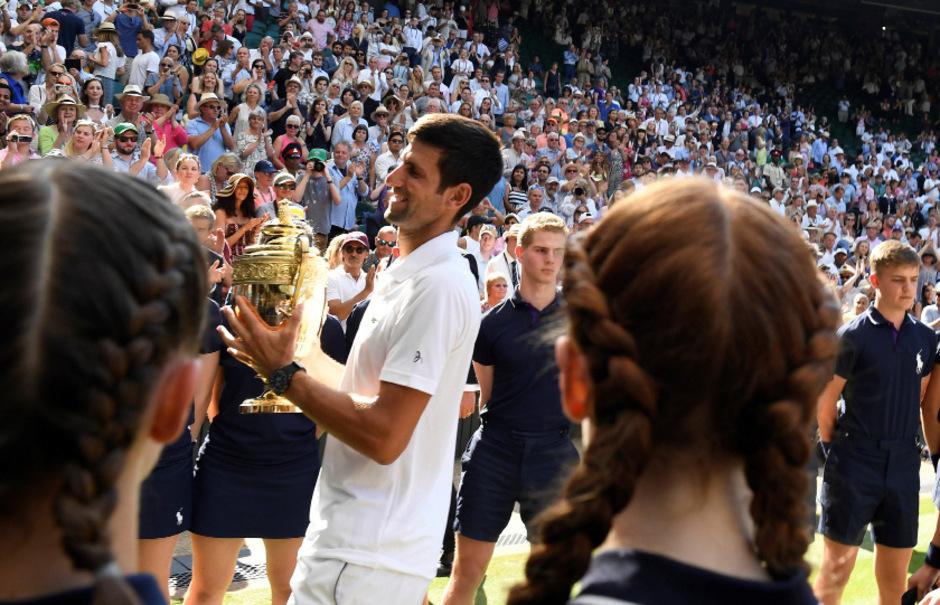 Novak Djokovic gehört wieder zu den Top Ten der Weltrangliste.