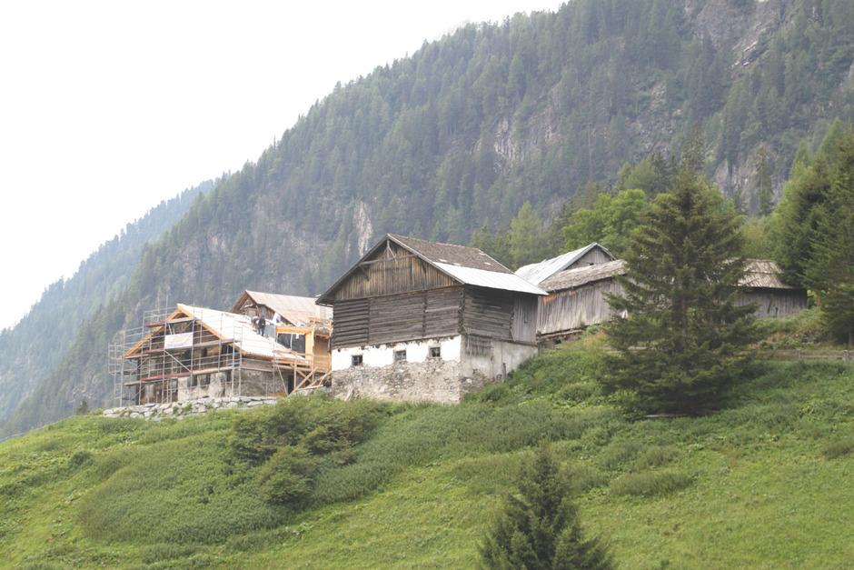 Die Ögghöfe sind ein gelungenes Beispiel für alte Häuser, denen neues Leben eingehaucht werden konnte.