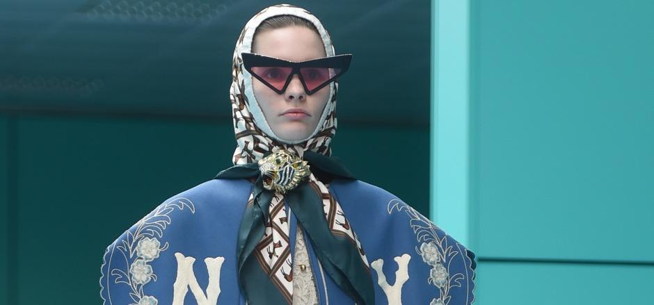 Unkonventionell: Gucci treibt den Stilmix auf die Spitze.