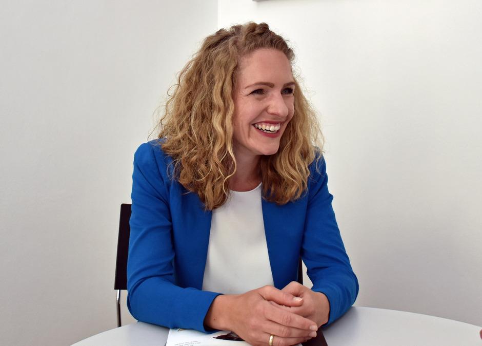 Isabelle Brandauer ist seit Juli 2017 mit der Planung des Maximilian-Jahres beschäftigt.