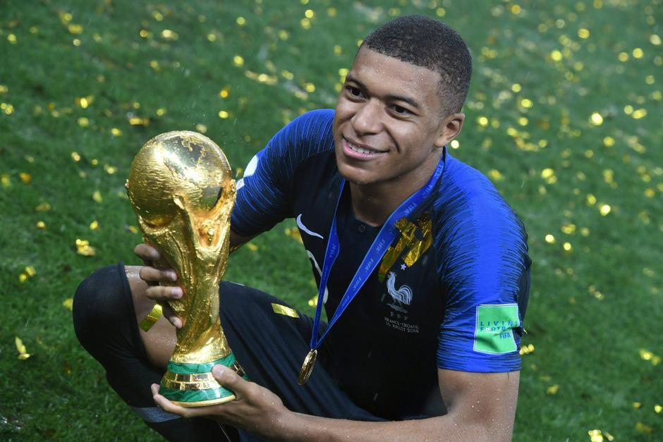 Kylian Mbappe gewann mit Frankreich die WM in Russland.