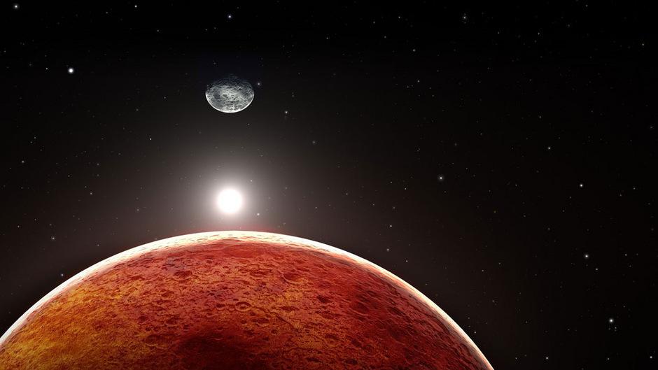 Mond Und Mars Heute Ganz In Rot Alles Zum Jahrhundert Ereignis