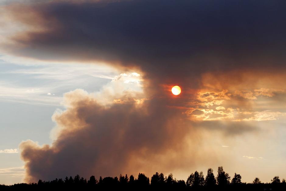 waldbrände schweden 2020 karte Waldbrände in Schweden langsam unter Kontrolle   Tiroler