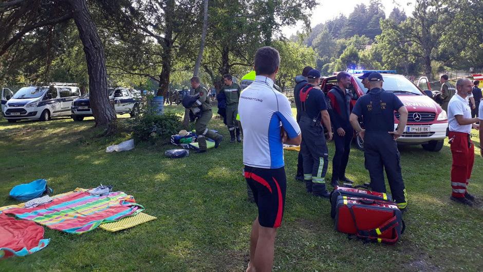 Dutzende Rettungskräfte standen im Einsatz.