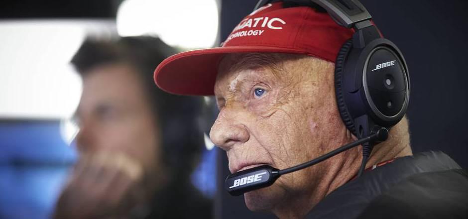 Niki Lauda.