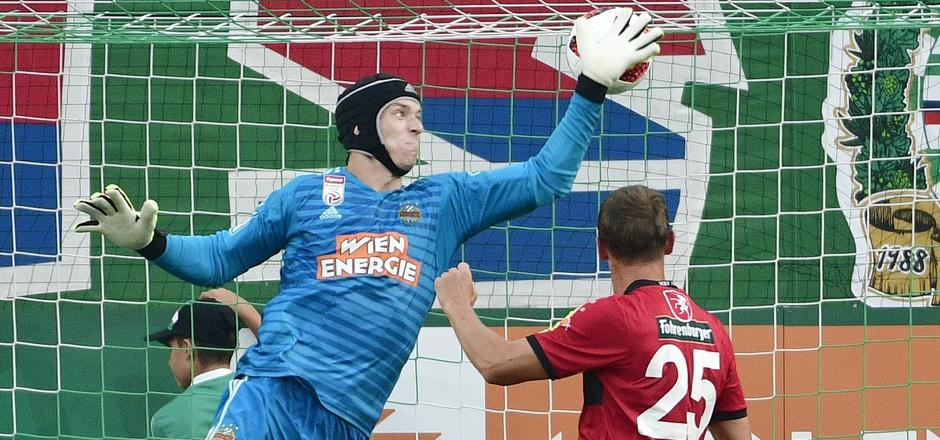Der Weerberger Hannes Aigner traf für Altach zum 1:1 bei Rapid.