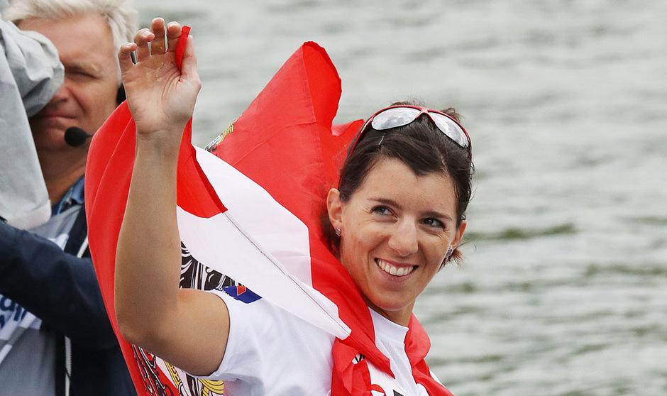 Magdalena Lobnig eroberte ihre dritte EM-Medaille.