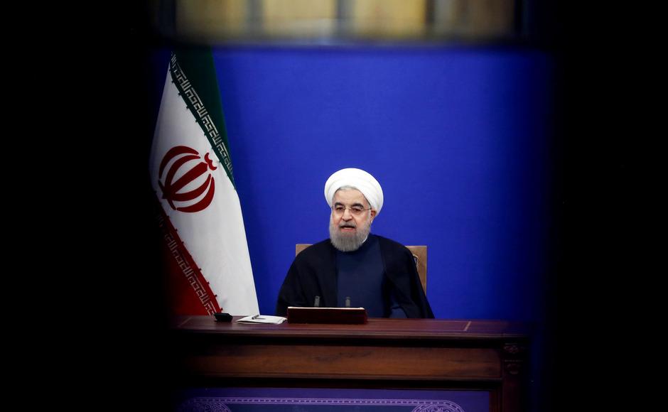 Der iranische Präsident Hassan Rouhani.