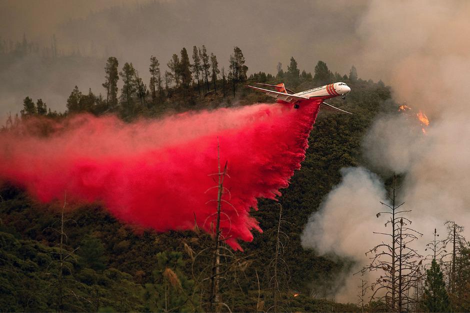 Die Einwohner müssen jeden Tag bereit sein ihre Häuser fluchtartig zu verlassen, denn durch die starken Winde breiten sich die Buschbrände rasend schnell und unvorhersehbar aus.