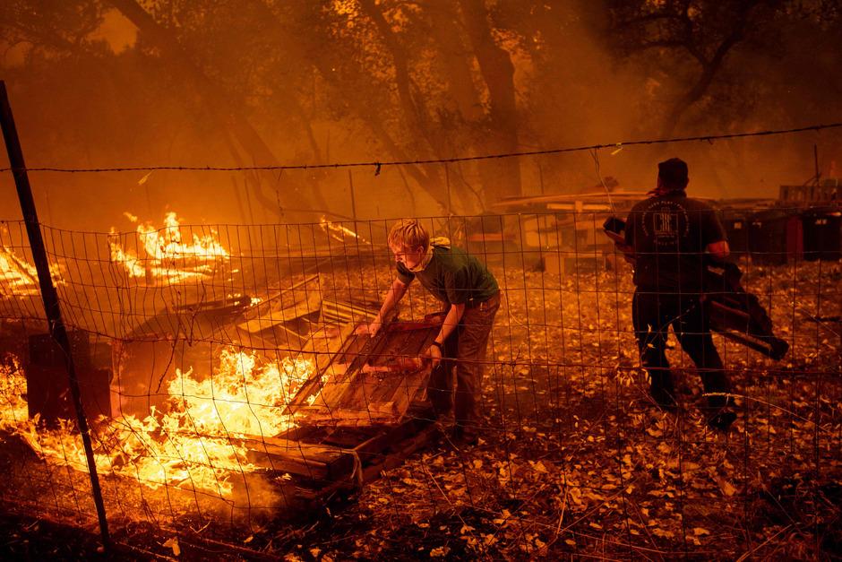 waldbrände kalifornien 2020 karte Kalifornien kämpft gegen größten Waldbrand seiner Geschichte
