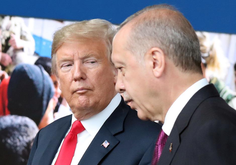 Donald Trump und Recep Tayyip Erdogan.