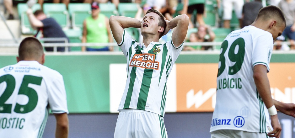 Auf Stürmer Deni Alar ruhen die Rapid-Hoffnungen im Heimspiel gegen Bratislava.