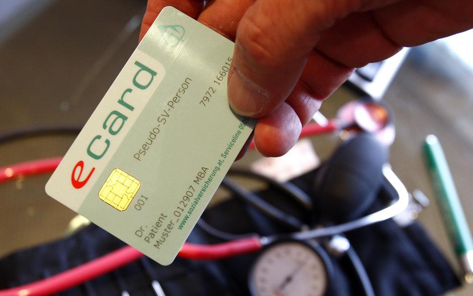 Muster einer E-Card. (Symbolfoto)