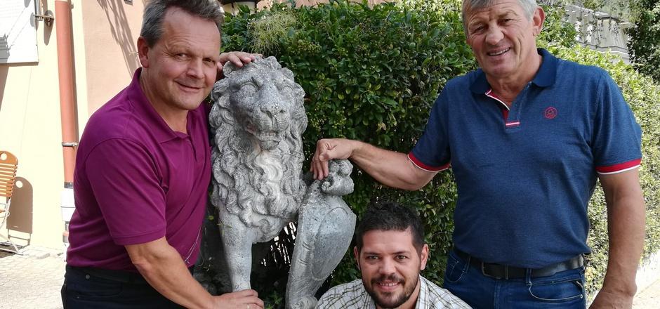 Kämpfen wie Löwen für Tiroler Ringer-Erfolge (v.l.): die Obmänner Klaus Draxl (Inzing), Klaus Riederer (Arzl) und Franz Pitschmann (Hötting).