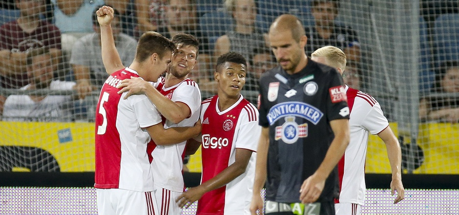Ajax Amsterdam besiegte Sturm Graz in der Champions-League-Qualifikation. Jetzt schaffte die Mannschaft den Sprung in die Gruppenphase.