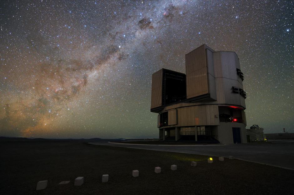 Das Very Large Telescope: In Chile wird von der Erde aus mit diesem Observatorium der Weltraum beobachtet.