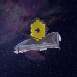 Das James-Webb-Teleskop: In einigen Jahren soll das James-Webb-Teleskop den Ursprung des Universums erforschen.
