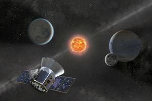 Die Exoplanten: Das Weltraumteleskop TESS wird demnächst im All nach Exoplaneten suchen.