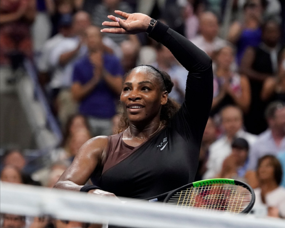 Serena Williams zog ins Halbfinale ein.