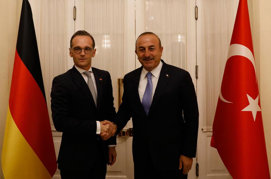 Der deutsche Außenminister Heiko Maas (l.) traf bei seinem Antrittsbesuch auf seinen türkischen Amtskollegen Mevlüt Cavusoglu.