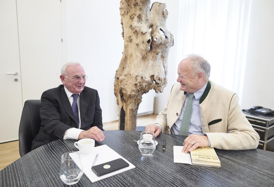 """Für Dieter Böhmdorfer und Andreas Khol hat Bundeskanzler Sebastian Kurz (ÖVP) das Zeug, ein """"größerer Staatsmann"""" zu werden als Wolfgang Schüssel."""