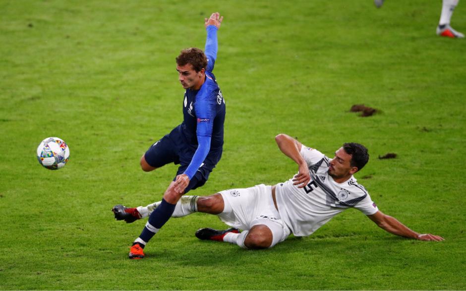 Mats Hummels gegen Antoine Griezmann: Am Ende erzielte keines ihrer Teams einen Treffer.