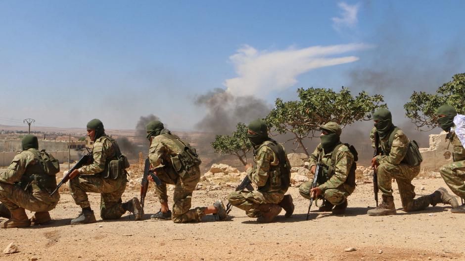 Die Rebellen in Syrien geben sich kämpferisch.