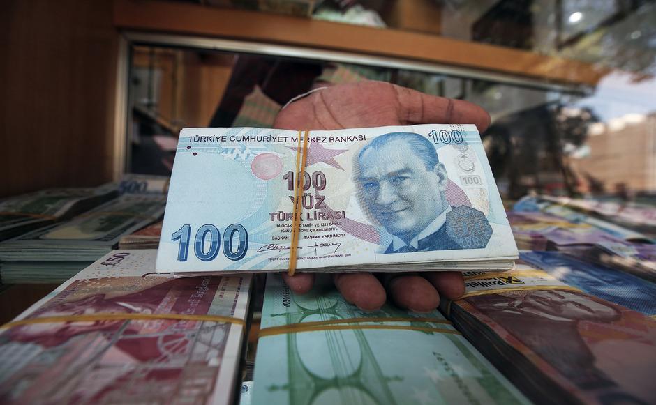 Die türkische Lira verliert immer mehr an Wert.