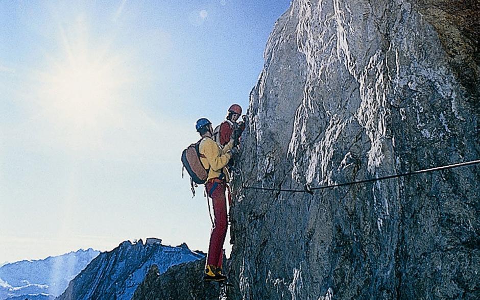 Klettersteig Ehrwald : Freunde setzten notruf ab kletterer in ehrwald abgestürzt