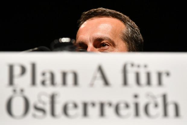 """Noch vor einem Jahr sprach Kern vom """"Plan A"""" für Österreich. Er folgt jetzt doch lieber seinem Plan B."""