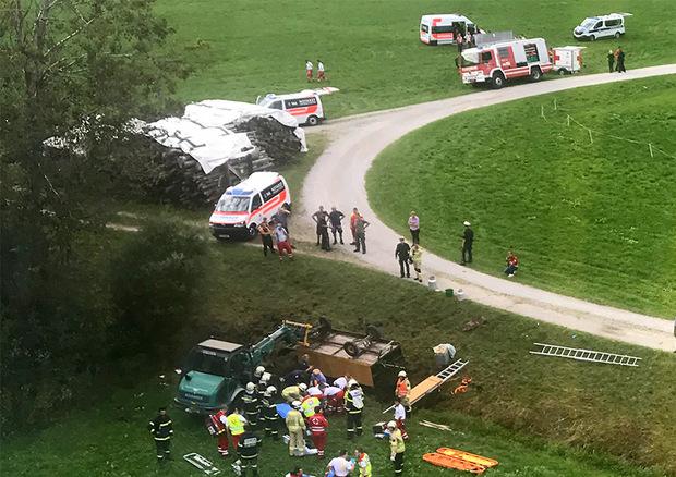 Die Kutsche war zwischen Breitenbach und dem Museum Tiroler Bauernhöfe in Kramsach unterwegs gewesen.
