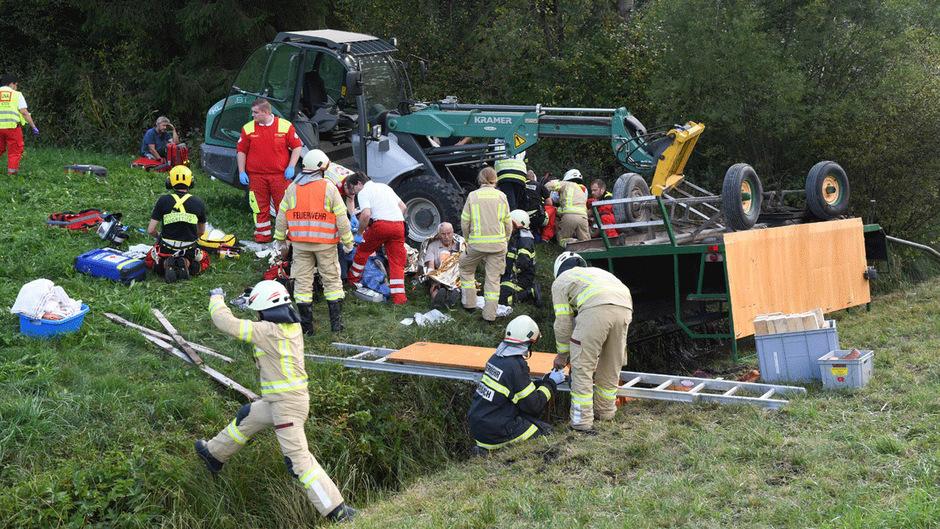 Insgesamt sind 16 Franzosen bei dem Unfall verletzt worden.