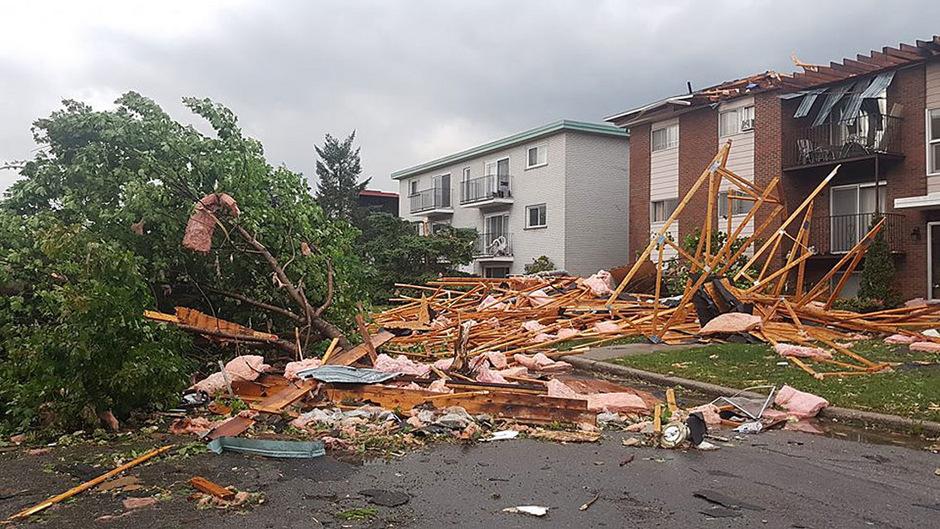 Kanada erlebt jedes Jahr dutzende Tornados, solch eine Kraft haben sie jedoch selten.