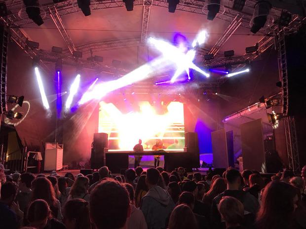 Deep House, Tropical House, Indie Dance: Star-DJ Felix Jaehn und das DJ-Duo Möwe heizten abends die WM-Stimmung an.