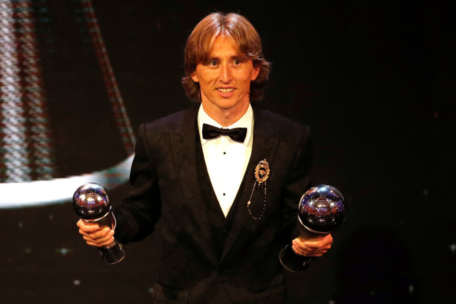 Luka Modric wurde als erster Kroate zum FIFA-Weltfußballer des Jahres gekürt.