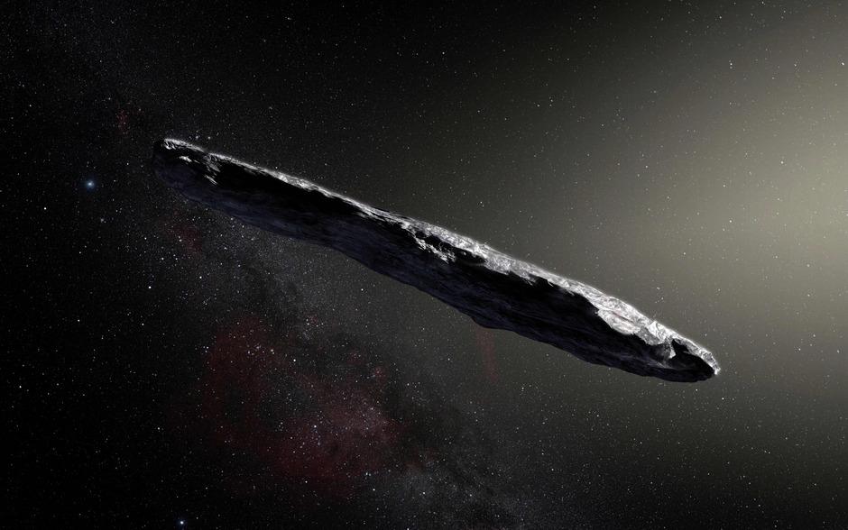 """Oumuamua"" wurde im Oktober 2017 entdeckt."