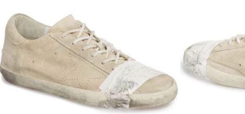 """""""Superstar Taped Sneaker"""" heißt der Schuh des italienischen Labels """"Golden Goose""""."""