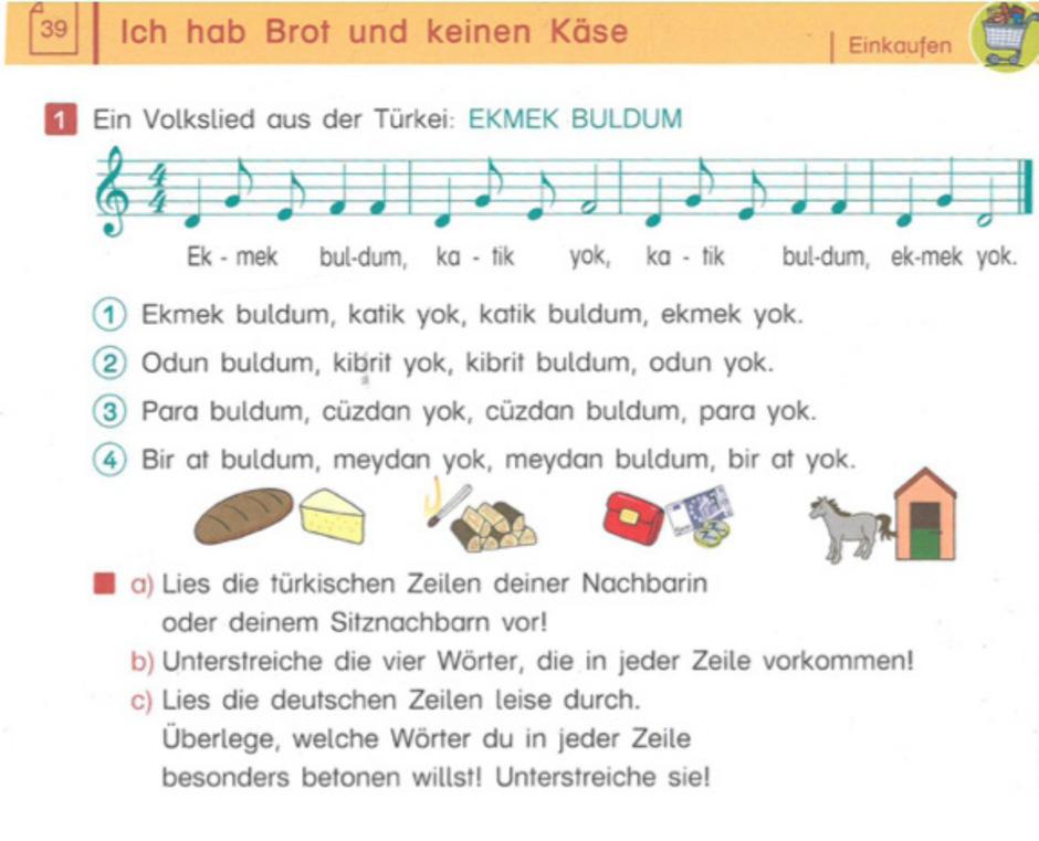 Die FPÖ präsentiert ein Beispiel aus dem Deutschunterricht an Tiroler Volksschulen, die sie abstellen möchte.