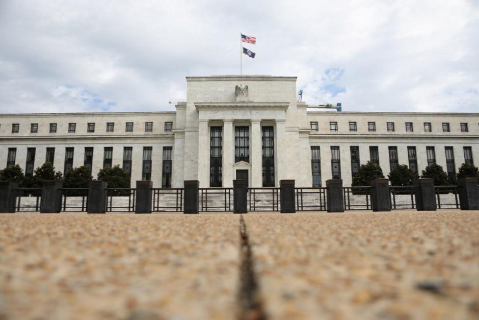 Der Sitz der US-Notenbank in Washington.